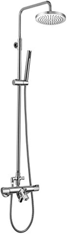 Clever Nine Thermostatarmatur für Bad Dusche, mit Schlauch ausziehbar