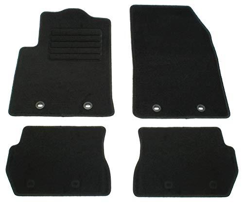 AD Tuning GmbH HG11333 Velours Passform Fußmatten Set, Schwarz