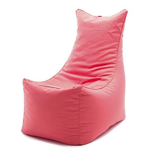 Möbel Akut Sitzsack korallrot Cubic Sitting Bull XXL-Sitzkissen rot Indoor Bodenkissen Wohnzimmer
