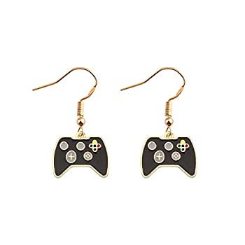 SEIRAA Gamer Earring Game Lover Jewelry Gift for Her Game Enthusiast Dangle Hook Jewelry  gamers earring