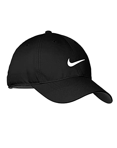 Nike Standard Golf Cap, Black, Adjustable