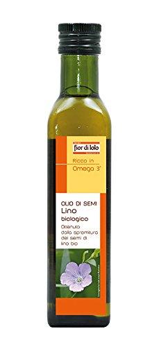 Fior di Loto Olio di Semi di Lino - 250 ml