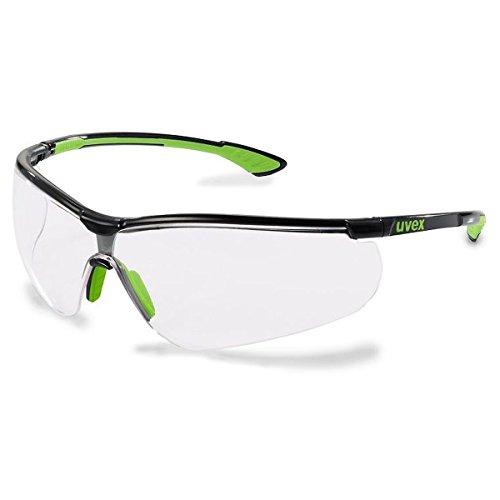 uvex Sportstyle Schwarz-Lime Bügelschutzbrille ★