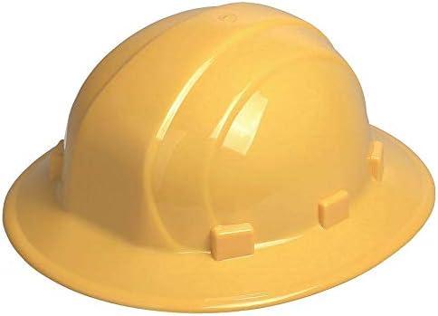ERB Full Brim Hard Hat Yellow Size: 6-1 Year-end gift 19502 Pa 8