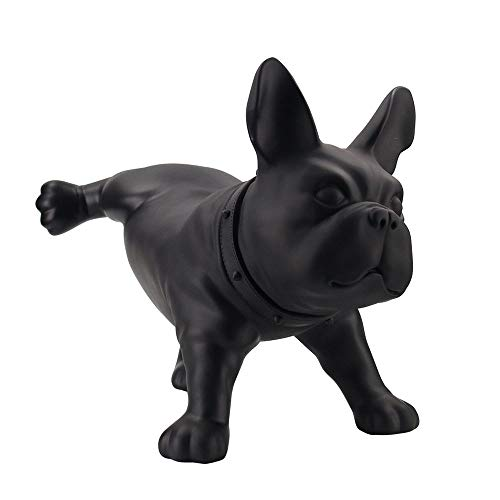 Modern Creative French Bulldog Dog Sculpture PE Plastic Mini pet Dog Statue Home Decoration Handicrafts