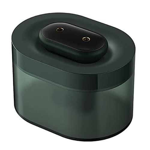 MagiDeal Difusor de coche humidificador USB, mini humidificadores portátiles, humidificación en aerosol de nano moléculas de agua, humidificador recargable - verde
