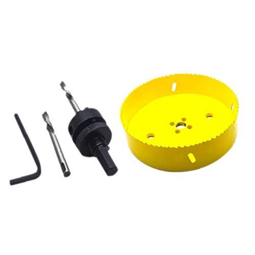 Bimétallique Scie M42 bimétallique trous trou de coupe 160mm pour tuyau ouvreur en bois mou en métal cloison sèche en plastique Panneaux de fibres Fournitures industrielles
