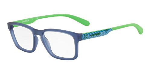 Arnette 0AN7146 Monturas de gafas, Matte Blue, 53 para Hombre