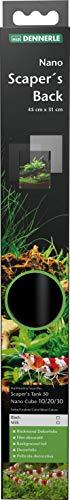 Dennerle Scaper's Back Black - Rückwand Dekorfolie für Nano Aquarien