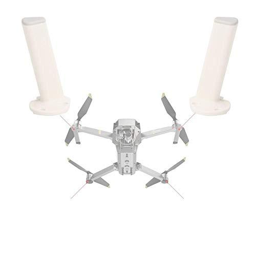 Dilwe Fahrwerksbein, Landing Gear Kit für Vordere Hintere Halterung Kompatibel mit DJI Mavic PRO RC Quadcopter(2 Stück Weiß)
