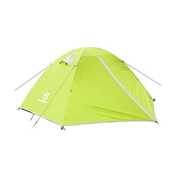 Bessport Backpacking Tent for 1-2 Person, Lightweight Camping Tent with Two Doors Easy Setup Waterproof Tent for Outdoor…