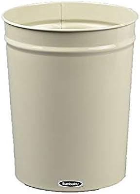 日本製ゴミ箱 ぶんぶくテーパーバケット 小 ゴミ箱 ダストボックス ごみ箱 くず入れ (アイボリー)