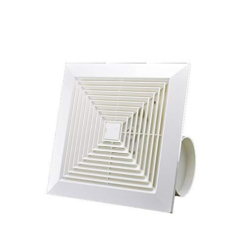 MHRCJ Hogar Ventana Cuadrado Tipo Extintor de baño WC Silencio de Vidrio de ventilación