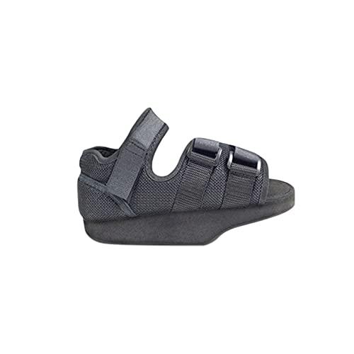 Zapato post-quirurgico en talo, con velcro, negro, Talla L (40-43), Emo