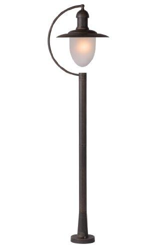 Lucide ARUBA - Lanterne / Lampadaire Exterieur Extérieur - IP44 - Rouille