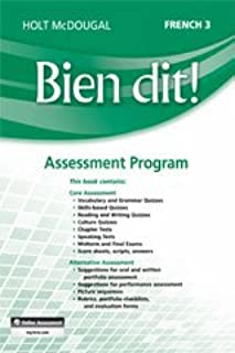 Bien Dit!: Assessment Program Level 3