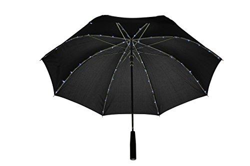Der LED Regenschirm