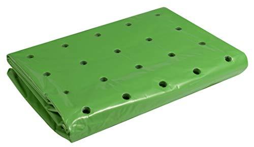 Windhager Frühbeet-Folie Strong, Pflanzfolie für Ganzjahresschutz, Frühbeetfolie, Folie für Pflanzen, grün, 37 µm, 10 x 1,5 m, 06760