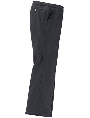 HOAL Leichte Wollhose mit extra Kurzleibbund und Stretch schwarz_19 31