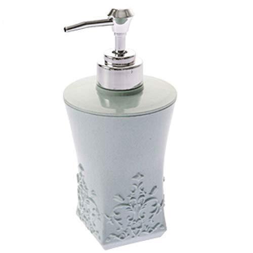 Dispensador De Jabón Conveniente para Baño Botella De Agua Tallada Europea, Dispensador De Jabón Reutilizable, Botella De Ducha Vacía, con Bomba, para Loción De Baño, Gel De Ducha, Dispensador De Ja