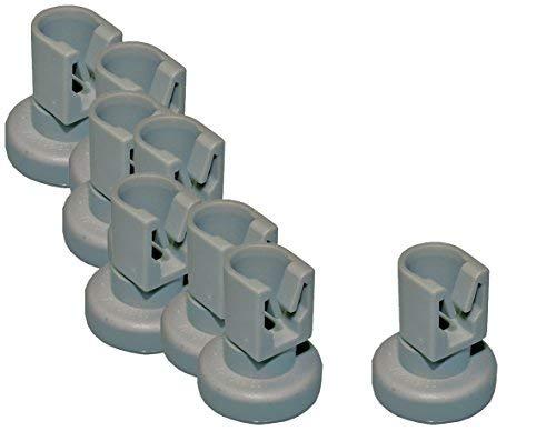 Korbrolle Oberkorb 8 Stück Spülmaschine Elektrolux AEG 5028696700/0