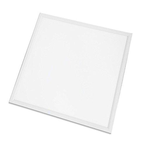 LED SUD-OUEST FRANCE 3.80016E+12 Eclairages-Dalle Carrée LED Aluminium, 36 W, Blanc, 600 x 600 cm