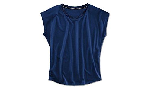 BMW Active T-Shirt Damen Blau funktioneller Rundhalsausschnitt Gr. XL blau
