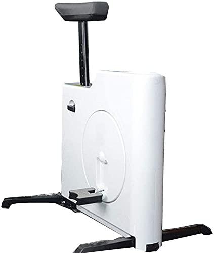 ZJDM Bicicleta estática, Ejercicio de Mesa Mini Bicicleta estática portátil, Resistencia al Ciclo Escritorio para Bicicletas Asiento para el hogar Pedal de Gimnasio, Ideal para Ejercicios o Rehab