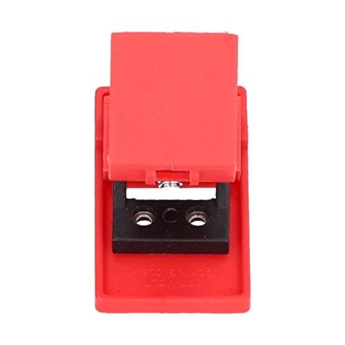 Tipo de abrazadera Bloqueo de disyuntor Caja moldeada industrial Interruptor de aire Bloqueo de seguridad para manija dentro de 18 mm / 0.7in Candados de seguridad Dispositivos de cerrojo para recarga