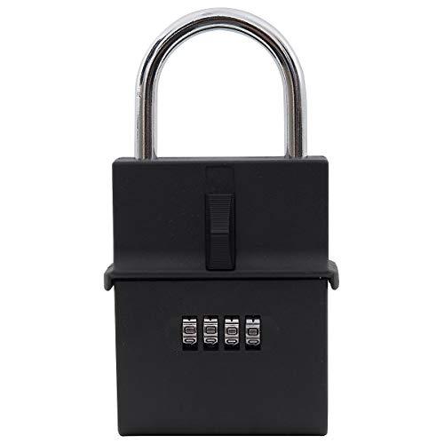 caja fuerte con llave newpo | Cerradura de combinación 150 x 80 x 30 mm 150 x 80 x 30 mm | Caja fuerte llave segura caja fuerte