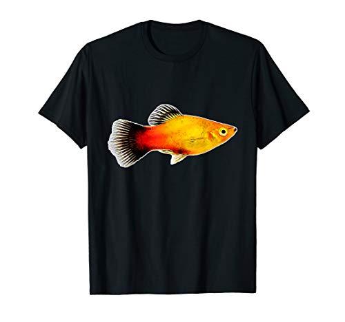 Platy Aquarienfisch I Aquarianer Hobby Aquaristik T-Shirt