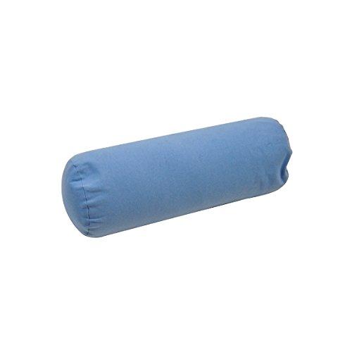 Mini coussin d'allaitement déhoussable billes - Bleu