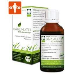 Wellnest Bärlauch Bio Extrakt 50 ml   Detox Konzentrat hochdosiert   Mit wertvollen ätherischen Ölen, Mineralstoffen und Vitaminen