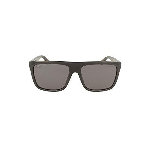 Gucci Gafas de Sol GG0748S Black/Grey 59/17/145 hombre