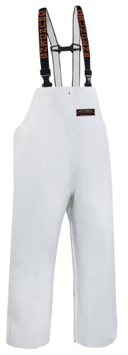 Grundéns Herkules 16 Latzhose, Größe XL, Weiß