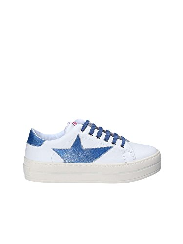 Fornarina PE18MX295CL Sneakers Donna White/Sky 37