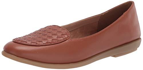 Aerosoles Women's Brielle Loafer Flat, TAN, 7.5 Wide
