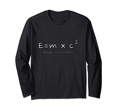Energie = Milch x Kaffee 2 I Energy = Milk x Coffee 2 Langarmshirt