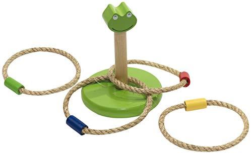 Ring Werpen ? Ringwerpspel met Ringen - Buitenspeelgoed Jongens & Meisjes - Hout