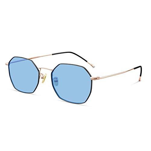 DKee Gafas de Sol Gafas De Sol Azules Polarizado Gafas De Sol De Conducción Moda De Tiro Al Aire Gafas Ultra Ligeras Mujer