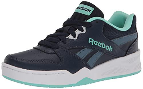 Reebok Men's BB4500 Low 2 Sneaker, Vector Navy/Blue Slate/Pixel Mint, 10.5