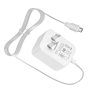 Power Cord for Motorola Baby Monitor MBP36S MBP41S MBP843 MBP36XL MBP38S MBP43S MBP33S MBP843 MBP853 MBP854 MBP855 Connect for Parent Unit Charger Supply