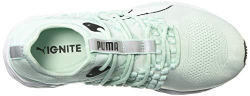 PUMA Speed 600 Fusefit Zapatilla de deporte para mujer, azul (Feria Aqua-puma Blanco), 38.5 EU