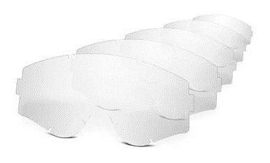 Oakley Lexan Lens Clear Lentes de reemplazo para Gafas de Sol, Mehrfarbig, 0 Unisex Adulto