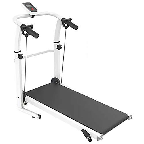 Mini cinta de correr plegable 93 x 36 cm, máquina de correr para cardio, fitness, plegable, LCD, inclinación, gimnasio, entrenamiento, aeróbico, casa