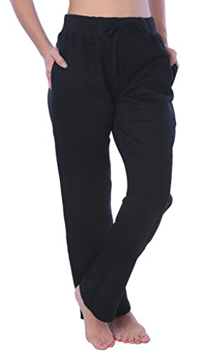 Woman Drawstring Pocket Sweatpants Available in Plus Size LFPO_18 Black 3X
