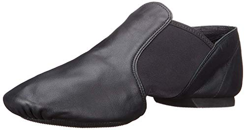 Capezio Women's E Series Jazz Slip-On,Black,8 M US