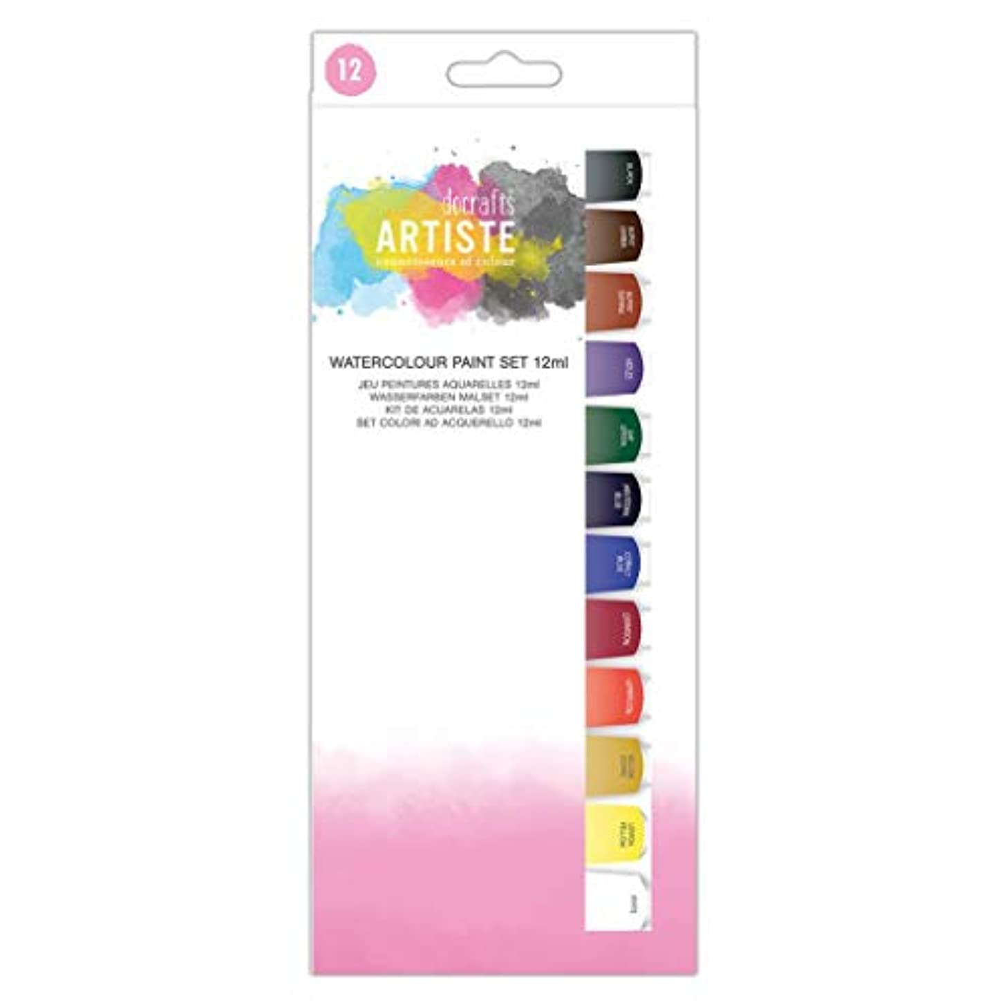 Artiste Paint Set, Multi-Colour, One Size