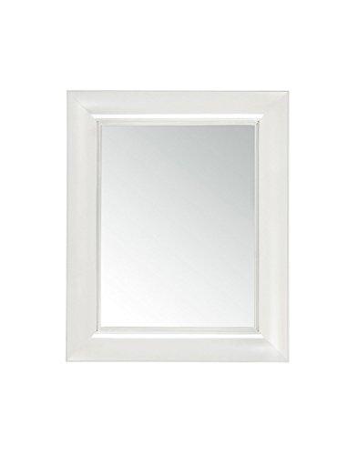 Kartell Francois Ghost Specchio da Parete, Bianco (Cristallo)