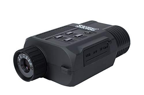 BARSKA BQ13506 Night Vision NVX700 Infrared Illuminator Digital Monocular, Black, One Size